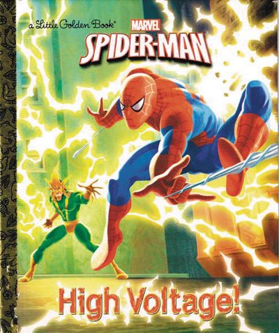 Spider Man High Voltage Little Golden Book Reissue MAR161973F