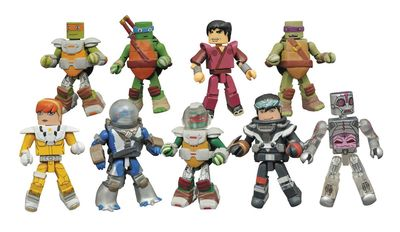 Teenage Mutant Ninja Turtles Minimates Series 5 Foil Bmb MAR162249U