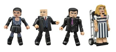 Gotham Minimates Series 3 Set MAR162253U