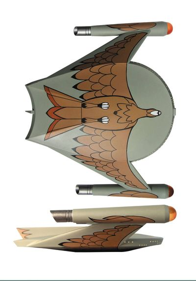 Star Trek Romulan Bird Of Prey Ship MAR162255U