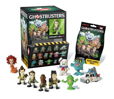 Ghostbusters Micro-figures Bmb Display MAR162635I