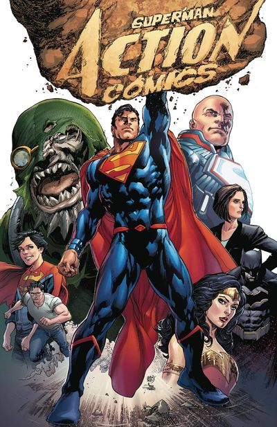 Superman: Action Comics - The Rebirth Deluxe Collection Book 1 HC