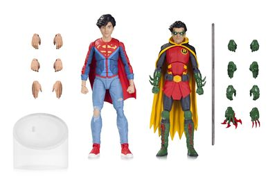 DC Icons Robin & Superboy Action Figure 2 Pack MAR170456Y