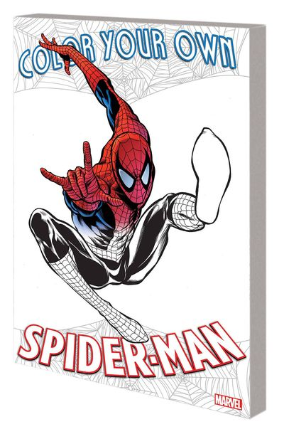 Color Your Own Spider-Man TPB MAR171137D