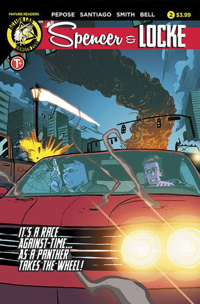 Spencer & Locke comics at TFAW.com