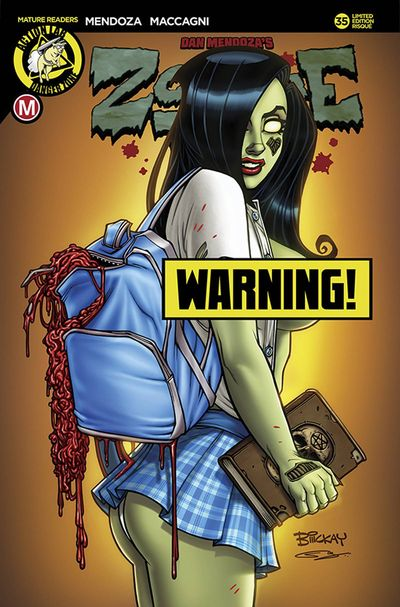 Zombie Tramp Ongoing #35 (Cover D - Mckay Schoolgirl Risque)