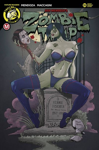 Zombie Tramp Ongoing #35 (Cover E - Rodrix)