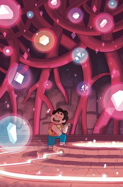 Steven Universe Ongoing #4 (Subscription Sygh Variant)