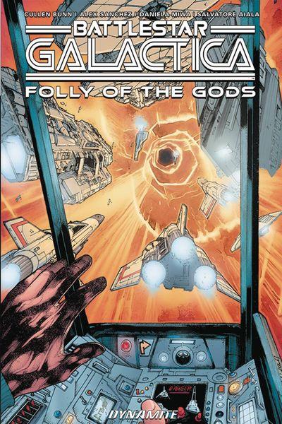 Battlestar Galactica Classic Folly Of The Gods TPB