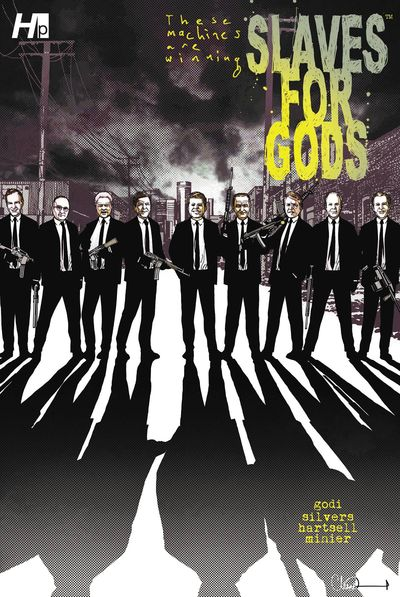 Slaves For Gods GN Previews Exclusive Ed Vol. 01 Adlard Cover
