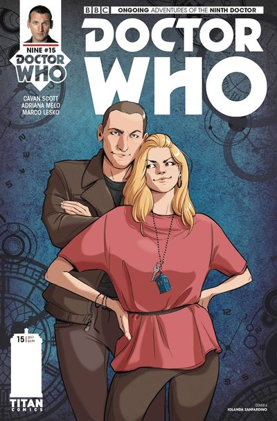Doctor Who 9th #15 (Cover A - Zanfardino)