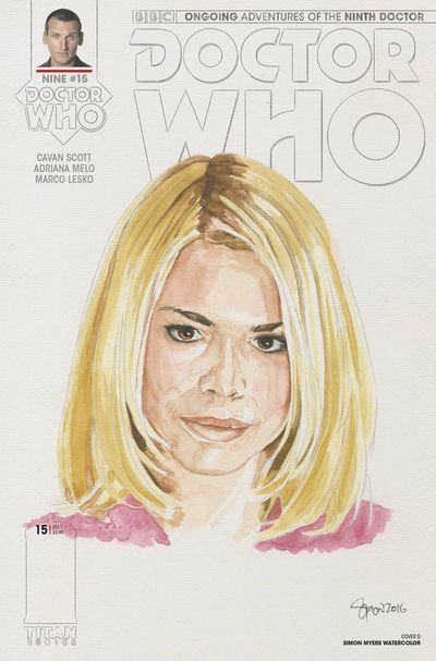 Doctor Who 9th #15 (Cover D - Myers)