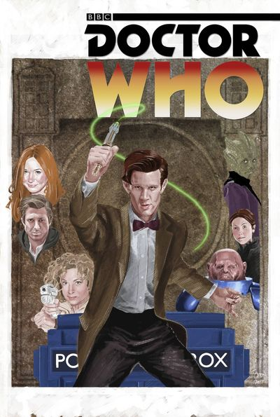 Doctor Who 11th Year 3 #8 (Cover C - Myers)