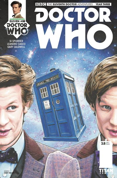 Doctor Who 11th Year 3 #8 (Cover D - Walker)