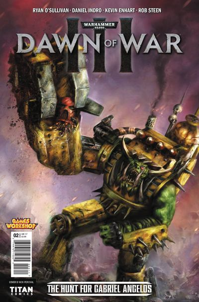 Warhammer 40000 Dawn Of War III #2 (of 4) (Cover D - Percival)