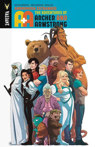 A&A Adventures of Archer & Armstrong TPB Vol. 03 Andromeda  Estranged