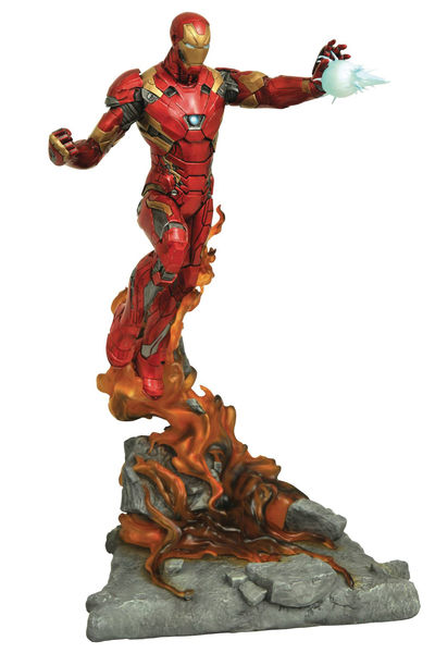 Marvel Milestones Civil War Movie Iron Man Resin Statue MAR172719U