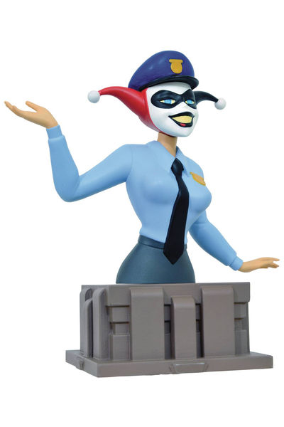Batman Animated Series 25 Anniv Harley Quinn Bust MAR172722U
