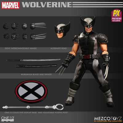 One-12 Collective Previews Exclusive Wolverine Action Figure (X-Force Version) MAR178670J