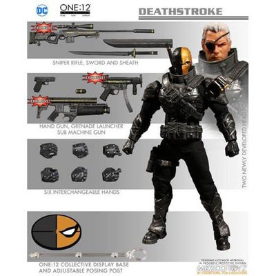 One-12 Collective Previews Exclusive Deathstroke Action Figure (Stealth Version) MAR178824J