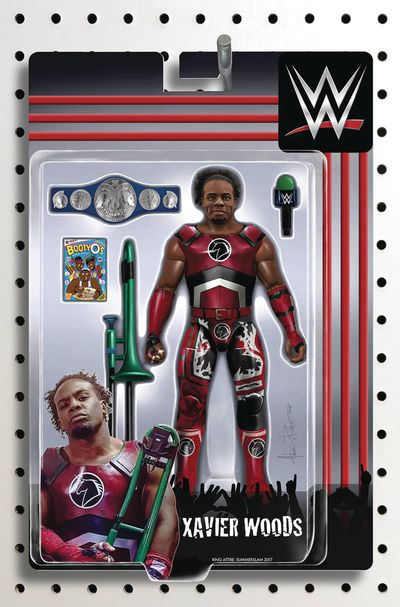 WWE #17 (Riches Action Figure Variant) MAR181287