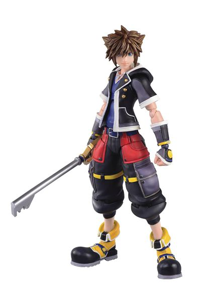 Kingdom Hearts 3 Sora 2nd Form Bring Arts 6in Previews Exclusive Action Figure MAR182632