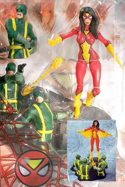 Marvel Select Action Figure: Spider-Woman DEC052708I
