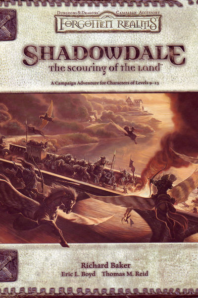 forgotten realms shadowdale the scouring of the land pdf