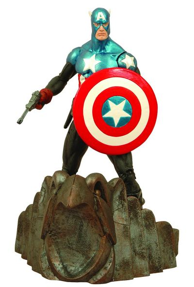 Marvel Select Captain America Action Figure MAY083509U