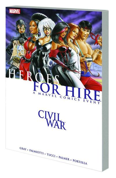 Civil War Heroes For Hire TPB MAY090562D