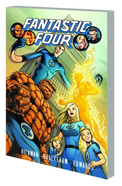 Fantastic Four By Jonathan Hickman Vol. 01 TPB