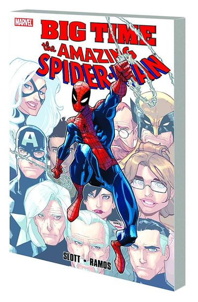 Spider-Man Big Time TPB MAY110761D