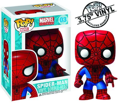 Pop Marvel Spider-Man Vinyl Bobble 2276