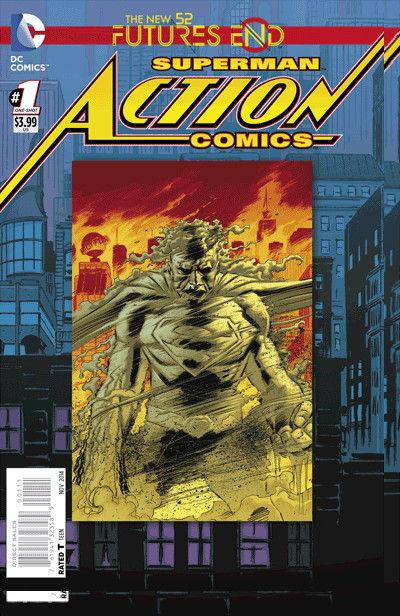 Action Comics Futures End #1 (3-D Motion Ed)