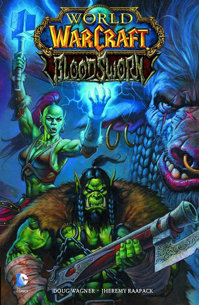 World Of Warcraft Bloodsworn TPB MAY140381D