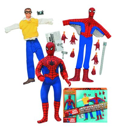 Marvel Le Spider-Man 8in Retro Action Figure Set MAY142225U