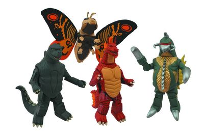 Godzilla Minimates Series 1 Set MAY142232U