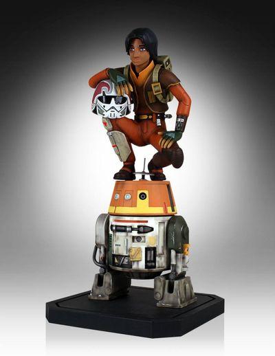 Star Wars Rebels Ezra & Chopper Maquette