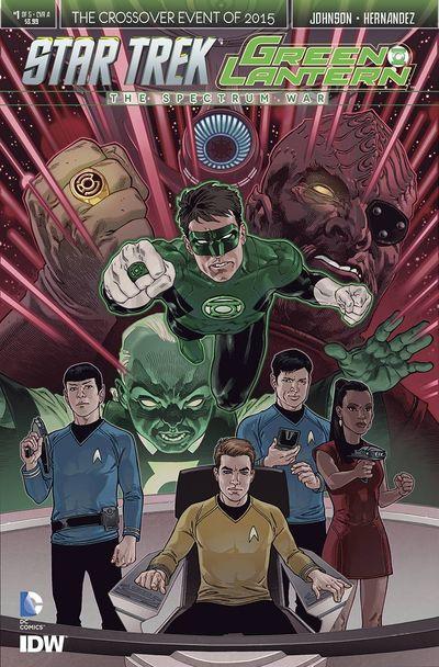 Star Trek Green Lantern #1 (of 6) (Rodriguez Cover)