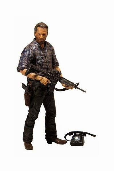 Walking Dead TV Series 7 Wave 2 Rick Action Figure MAY150640SINGLE