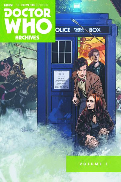 Doctor Who 11th Archives Omnibus TPB Vol. 01 (of 7)