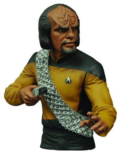 Star Trek TNG Worf Bust Bank MAY152170U