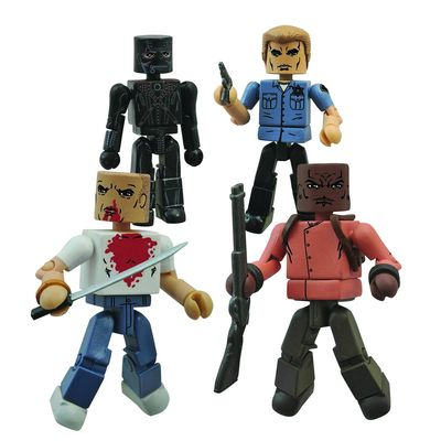 Pulp Fiction 20th Ann Minimates Gimp Set MAY152174U