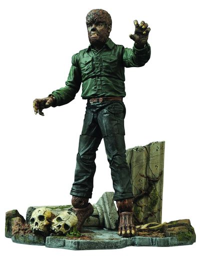 Universal Select Wolfman Ver 2 Action Figure MAY152179I