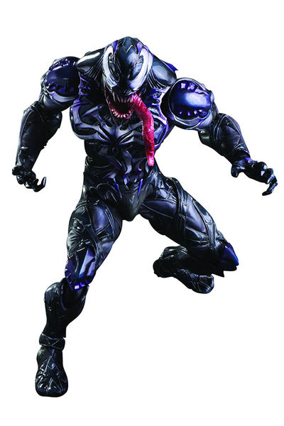 Marvel Comics Variant Play Arts Kai Venom Action Figure MAY158200I