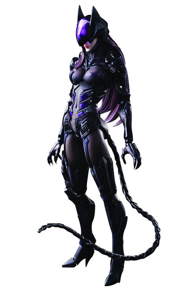 DC Comics Variant Play Arts Kai Catwoman Action Figure MAY158272I