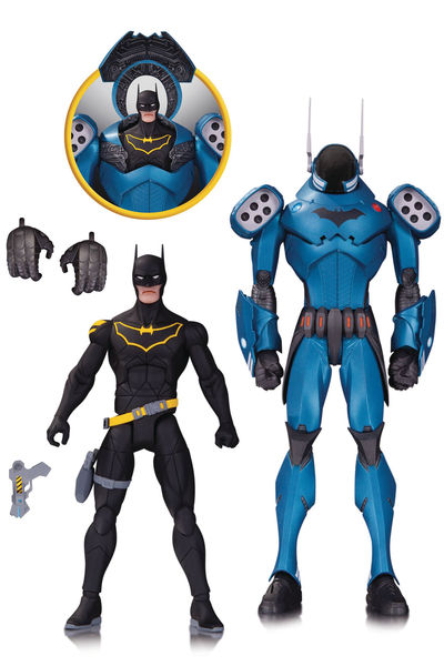 DC Designer Series Batman By Capullo Action Figure 2 Pack MAY160362Y