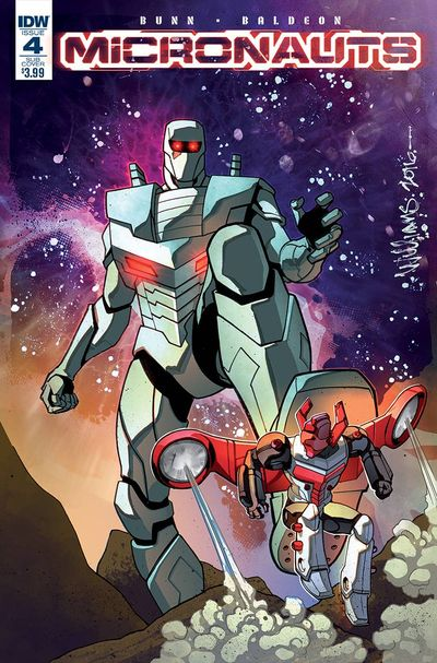 Micronauts #4 (Rom Subscription Variant)