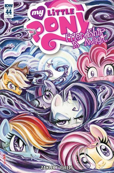 My Little Pony Friendship Is Magic #44 (Retailer 10 Copy Incentive Variant Cover Edition)