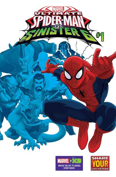Marvel Universe Ultimate Spider-Man vs. Sinister Six #1 MAY160889D